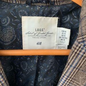 H&M Women's tweed blazer.